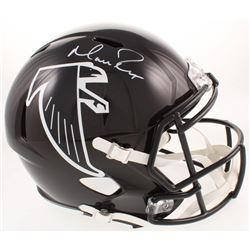 Matt Ryan Signed Atlanta Falcons Full-Size Throwback Speed Helmet (Fanatics Hologram)