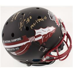 Devonta Freeman Signed LE Florida State Seminoles Full-Size BCS National Championship Helmet Inscrib