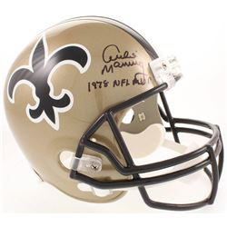 "Archie Manning Signed New Orleans Saints Full-Size Helmet Inscribed ""1978 NFL MVP"" (Radtke COA)"