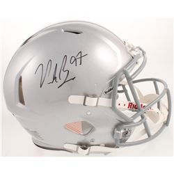 Nick Bosa Signed Ohio State Buckeyes Full-Size Authentic On-Field Speed Helmet (Radtke COA)