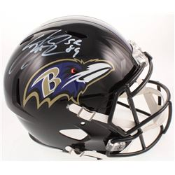 Steve Smith Sr. Signed Baltimore Ravens Full-Size Helmet (Smith Hologram)
