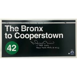 """Mariano Rivera Signed """"Bronx to Cooperstown"""" 10x20 Limited Edition Photo Inscribed """"HOF 2019""""  """"New"""