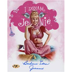 """Barbara Eden Signed """"I Dream of Jeannie"""" 8x10 Photo Inscribed """"Jeannie"""" (MAB Hologram)"""