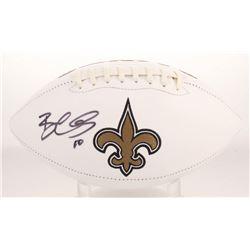 Brandin Cooks Signed New Orleans Saints Logo Football (Radtke COA)