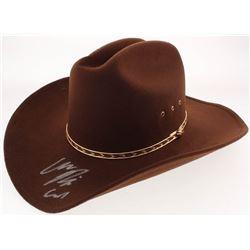 "Chandler Riggs Signed ""The Walking Dead"" Carl Grimes Sheriff Hat Inscribed ""Carl"" (Radke COA)"