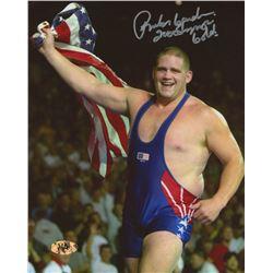 "Rulon Gardner Signed Team USA 8x10 Photo Inscribed ""2000 Olympic Gold"" (MAB Hologram)"