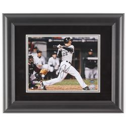 Scott Podsednik Signed Chicago White Sox 2005 World Series 14x17 Custom Framed Photo Display (Schwar