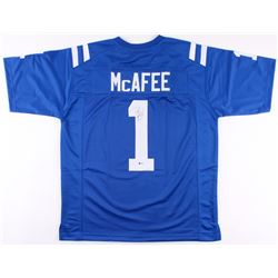Pat McAfee Signed Indianapolis Colts Jersey (Beckett COA)