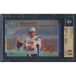 2000 Metal #267 Tom Brady RC (BGS 9.5)