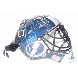 Andrei Vasilevskiy Signed Tampa Bay Lightning Mini Goalie Mask (YSMS COA)