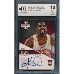 2012-13 Innovation Rookie Autographs #18 Kyrie Irving RC (BCCG 10)