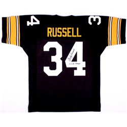 """Andy Russell Signed Pittsburgh Steelers Jersey Inscribed """"2x S.B. Champs"""" (JSA COA)"""