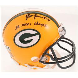 "Brett Favre Signed Packers Mini-Helmet Inscribed ""SB XXXI Champs"" (Radtke COA)"