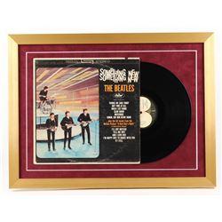 """The Beatles """"Something New"""" 18x24 Custom Framed Vinyl Album Display"""