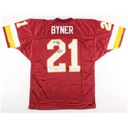 "Earnest Byner Signed Washington Redskins Jersey Inscribed ""SB XXVI Champs"" (Beckett COA)"