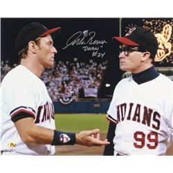 "Corbin Bernsen Signed ""Major League"" 16x20 Photo Inscribed ""Dorn"" (MAB Hologram)"