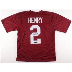 Derrick Henry Signed Alabama Crimson Tide Jersey (Radtke COA  Henry Hologram)