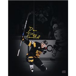 David Pastrnak Signed Boston Bruins 16x20 Photo (Pastrnak COA)