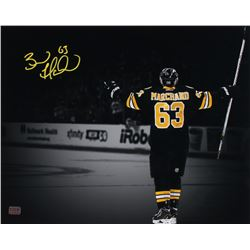 Brad Marchand Signed Boston Bruins 16x20 Photo (Marchand COA)
