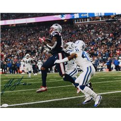 Josh Gordon Signed New England Patriots 16x20 Photo (JSA COA)
