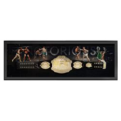 Conor McGregor Signed 24x64 Custom Framed UFC Championship Belt Display (Fanatics Hologram)