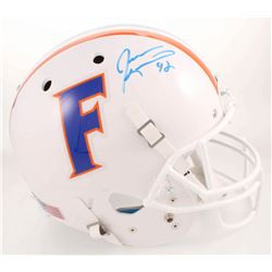 Jevon Kearse Signed Florida Gators Full-Size Throwback Helmet (Radtlke COA)