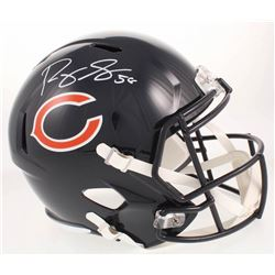 Roquan Smith Signed Chicago Bears Full-Size Speed Helmet (Radtke COA)