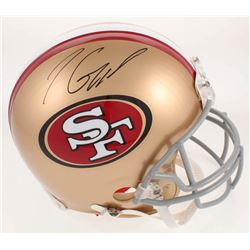 Jimmy Garoppolo Signed San Francisco 49ers Full Size Authentic On-Field Helmet (TriStar Hologram)