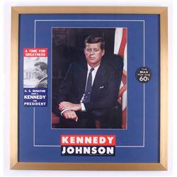 John F. Kennedy 24x25 Custom Framed Photo