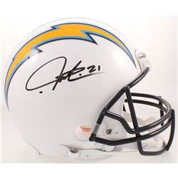 LaDainian Tomlinson Signed San Diego Chargers Full-Size Authentic On-Field Helmet (Radtke COA)
