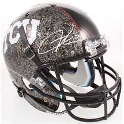 LaDainian Tomlinson Signed TCU Horned Frogs Full-Size AquaTech Helmet (Radtke COA)