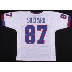 Sterling Shepard Signed New York Giants Jersey (JSA COA)