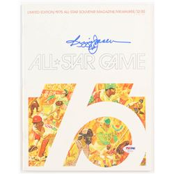 Reggie Jackson Signed LE MLB 1975 All-Star Game Program (PSA COA)