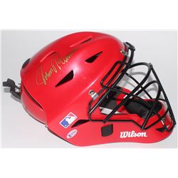 "Johnny Bench Signed Wilson Full Size Catcher's Mask Inscribed ""HOF 89"" (Beckett COA)"