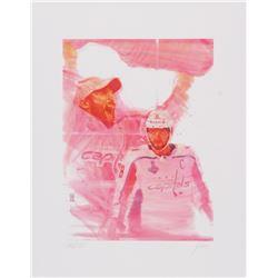 Alex Ovechkin Capitals 11x14 Limited Edition Fine Art Print by John Yim #/100