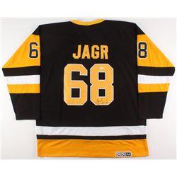 Jaromir Jagr Signed Pittsburgh Penguins Jersey (JSA COA)