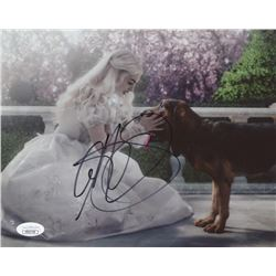"Anne Hathaway Signed ""Alice in Wonderland"" 8x10 Photo (JSA COA)"