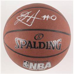DeAndre Ayton Signed NBA Basketball (JSA COA)
