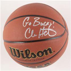 "Chris Holtmann Signed Basketball Inscribed ""Go Bucks!"" (JSA COA)"