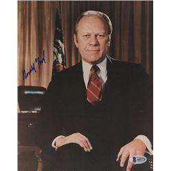 Gerald Ford Signed 8x10 Photo (Beckett LOA)