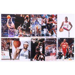 Lot of (10) Signed NBA 8x10 Photos with Greg Oden, Gary Williams, Deron Williams, Dale Davis (JSA AL