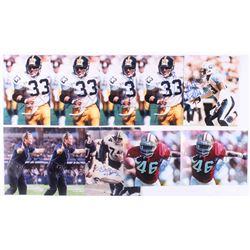 Lot of (10) Signed NFL 8x10 Photos with Bob Lilly, Tim McDonald, Jason Garrett, Keith Bulluck,  Merr