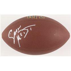 Sean McDermott Signed Full-Size NFL Football (JSA COA)