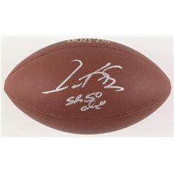 "Gary Kubiak Signed Full-Size NFL Football Inscribed ""SB 50 Champs"" (JSA COA)"