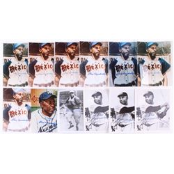 Lot of (12) Ray Dandridge Signed 8x10 Photos (JSA ALOA)