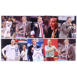 Lot of (10) Signed NCAA Coaches 8x10 Photos with Andy Enfield, Mark Few, Gary Williams, Dana Altman,