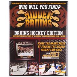 YSMS Hidden Bruins Hockey Edition 8x10 Mystery Box with Chance to Find Hidden Redemption