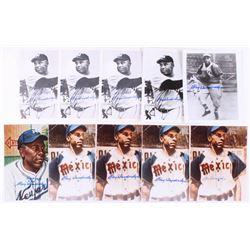 Lot of (10) Ray Dandridge Signed 8x10 Photos (JSA ALOA)