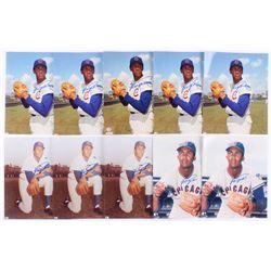 Lot of (10) Fergie Jenkins Signed Chicago Cubs 8x10 Photos (JSA ALOA)