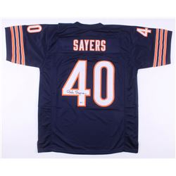 Gale Sayers Signed Chicago Bears Jersey (Beckett COA)